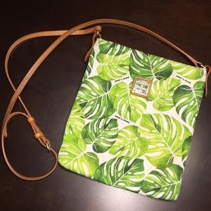 Dooney & Bourke Palm Leaves Crossbody